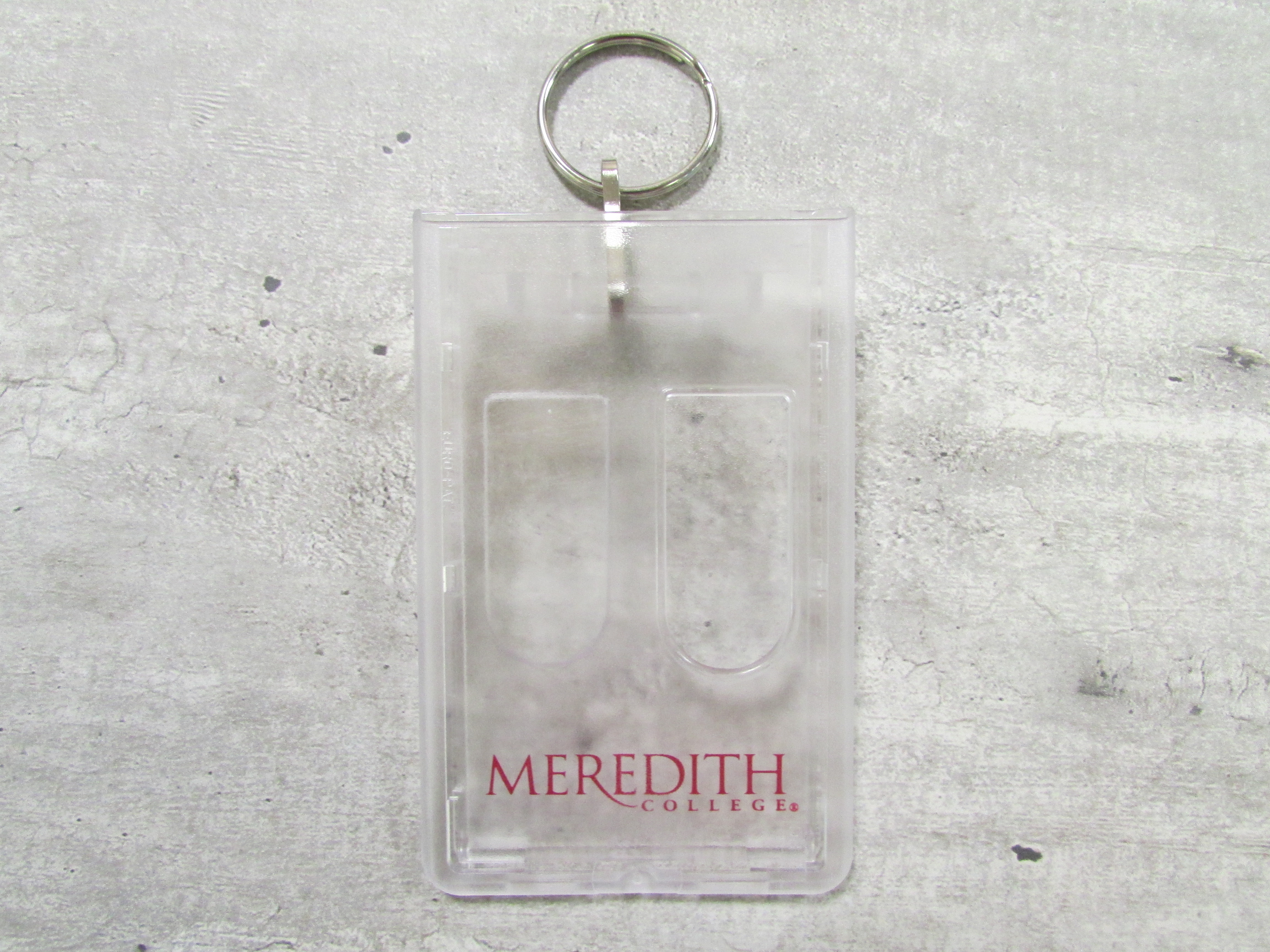Image for the Keychain Id Card Holder, Meredith College product