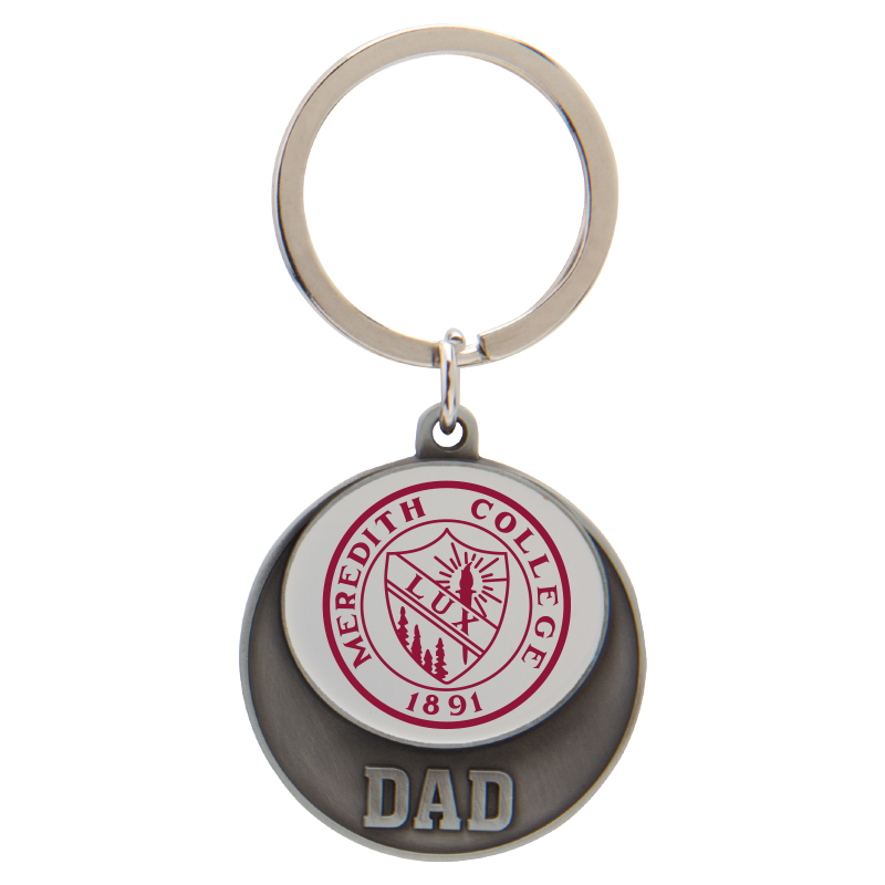 Alternative Image for the Key Tag White with Seal, Mom and Dad product