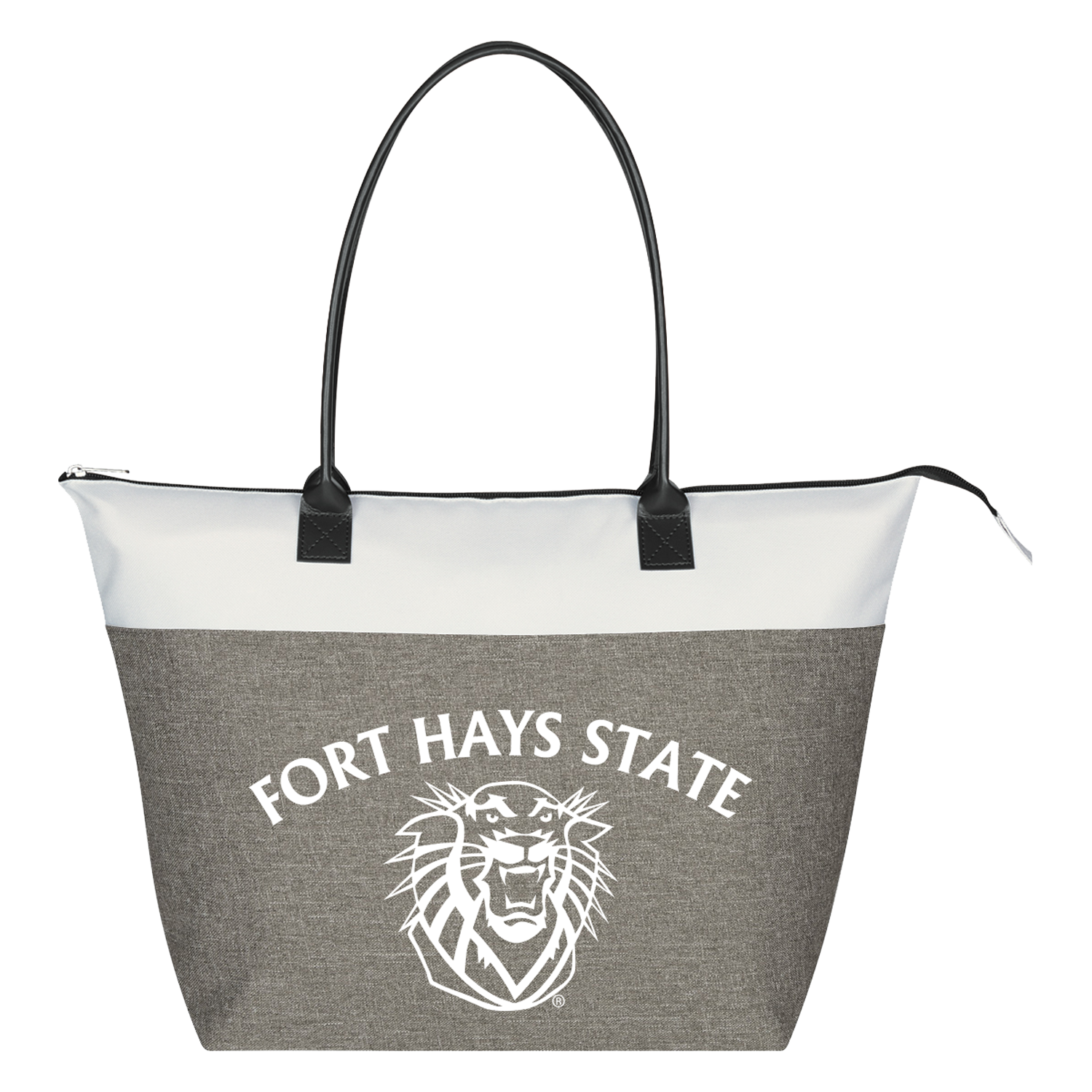 Image for the Fort Hays State Regatta Tote Bag, Gray, Jardine Associates product