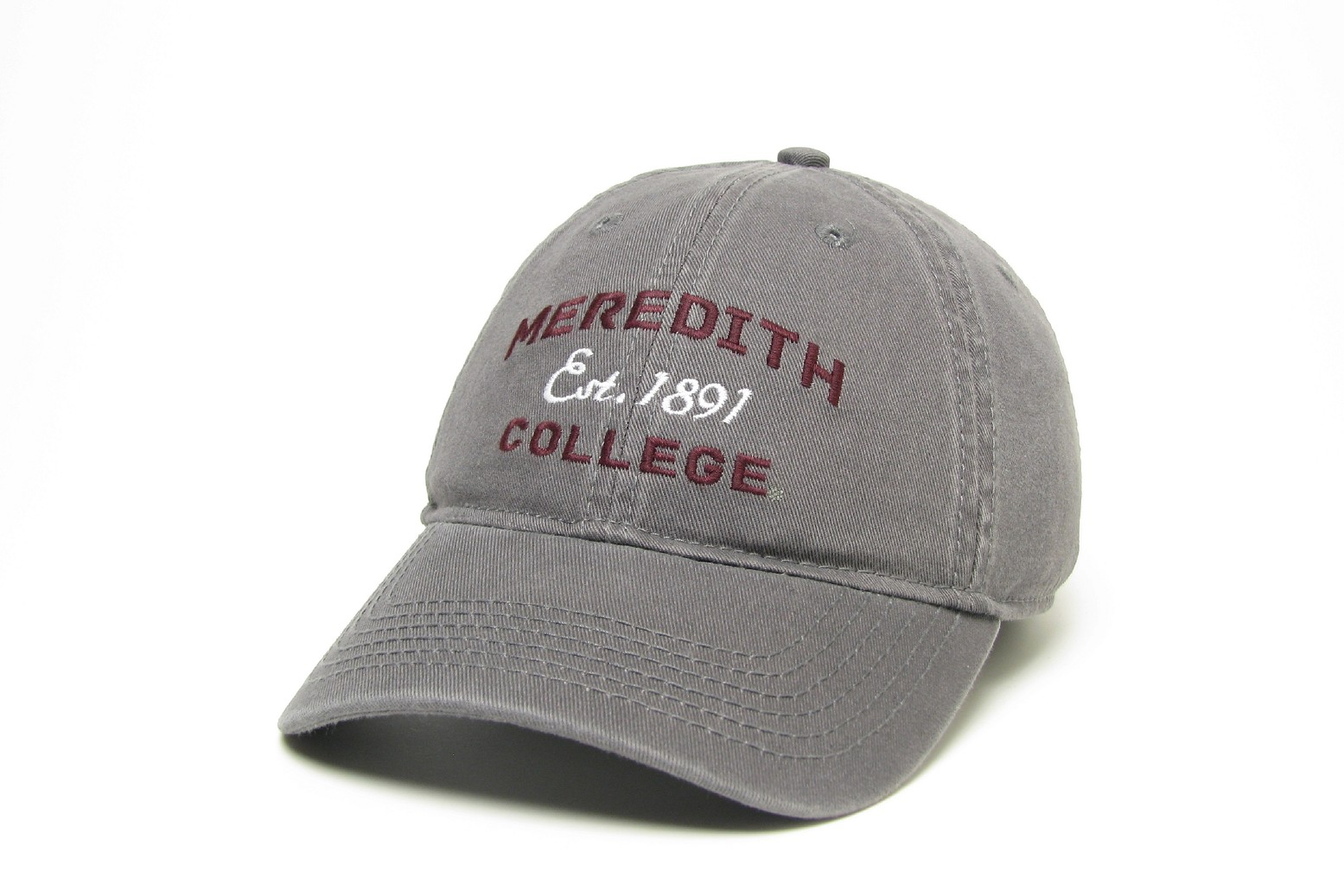 Image for the Relaxed Twill Hat Legacy Meredith Est. Date College product