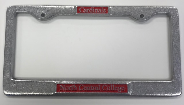 Image for the License Plate Frame-Pewter product