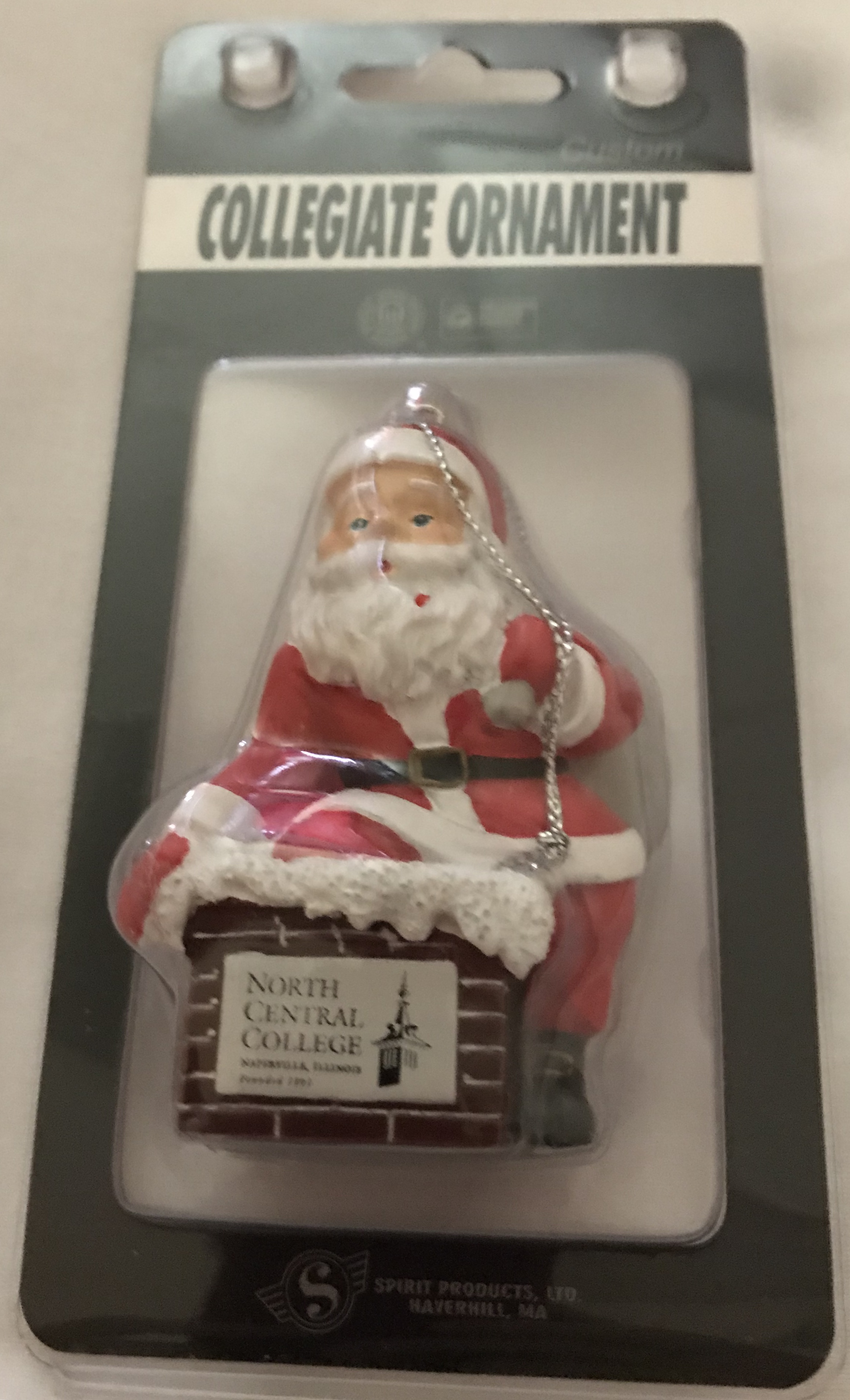 Image for the Santa Ornament product