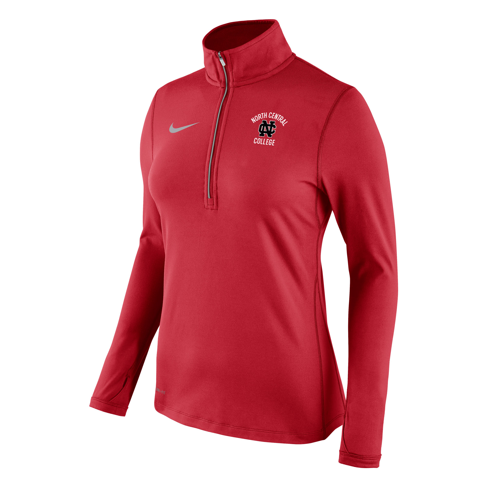 Image for the North Central College Women's Tailgate Element 1/2 Zip by Nike - Clearance product