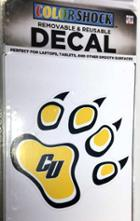 Image for the Removable Paw Decal ColorShock product