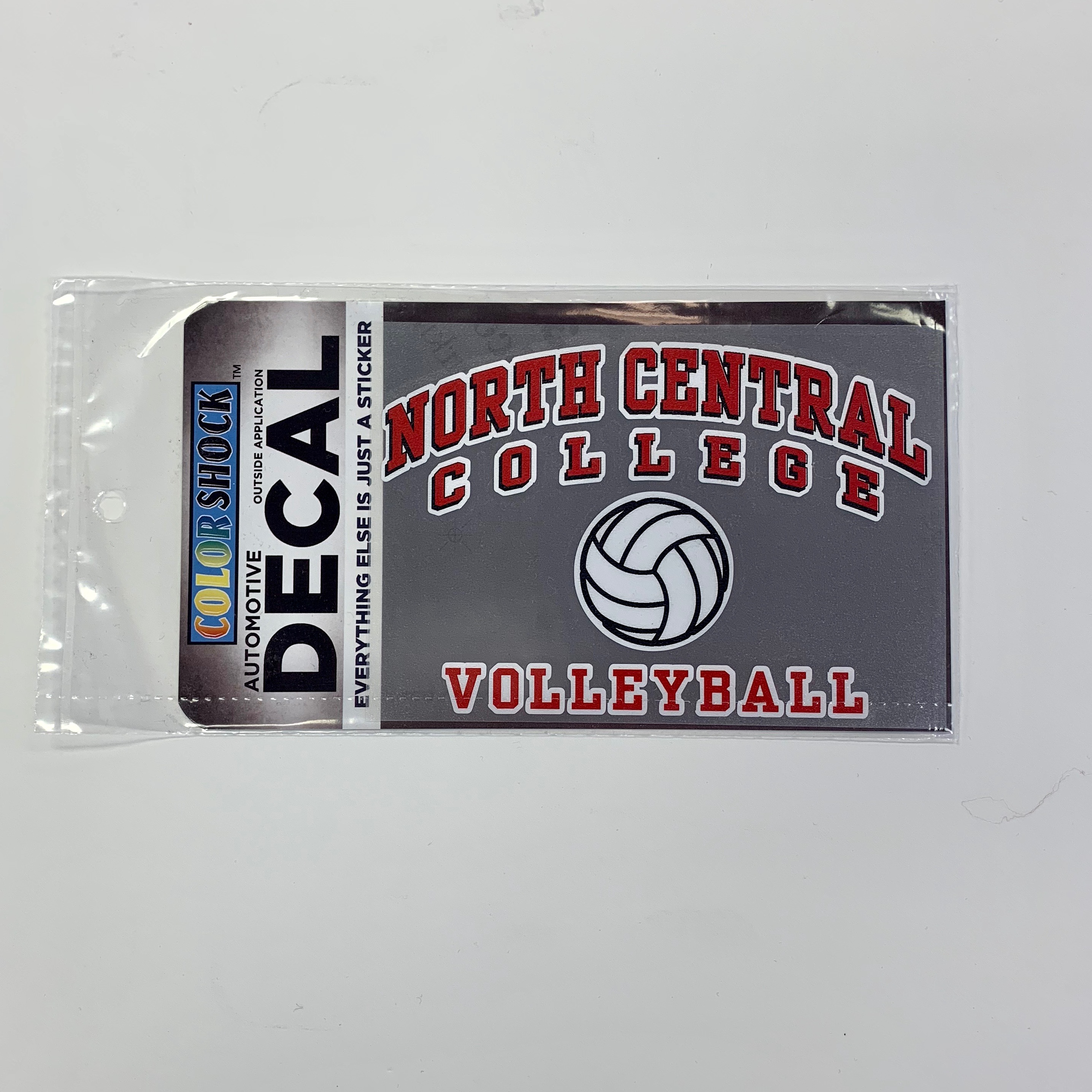Image for the Volleyball Decal (ColorShock) product