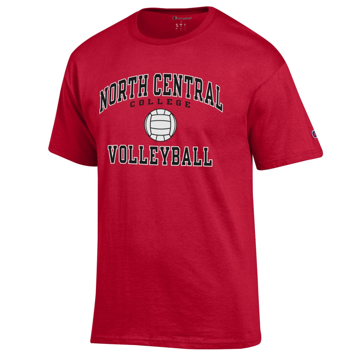 Image for the Volleyball Basic Short Sleeve Tee(Champion) product