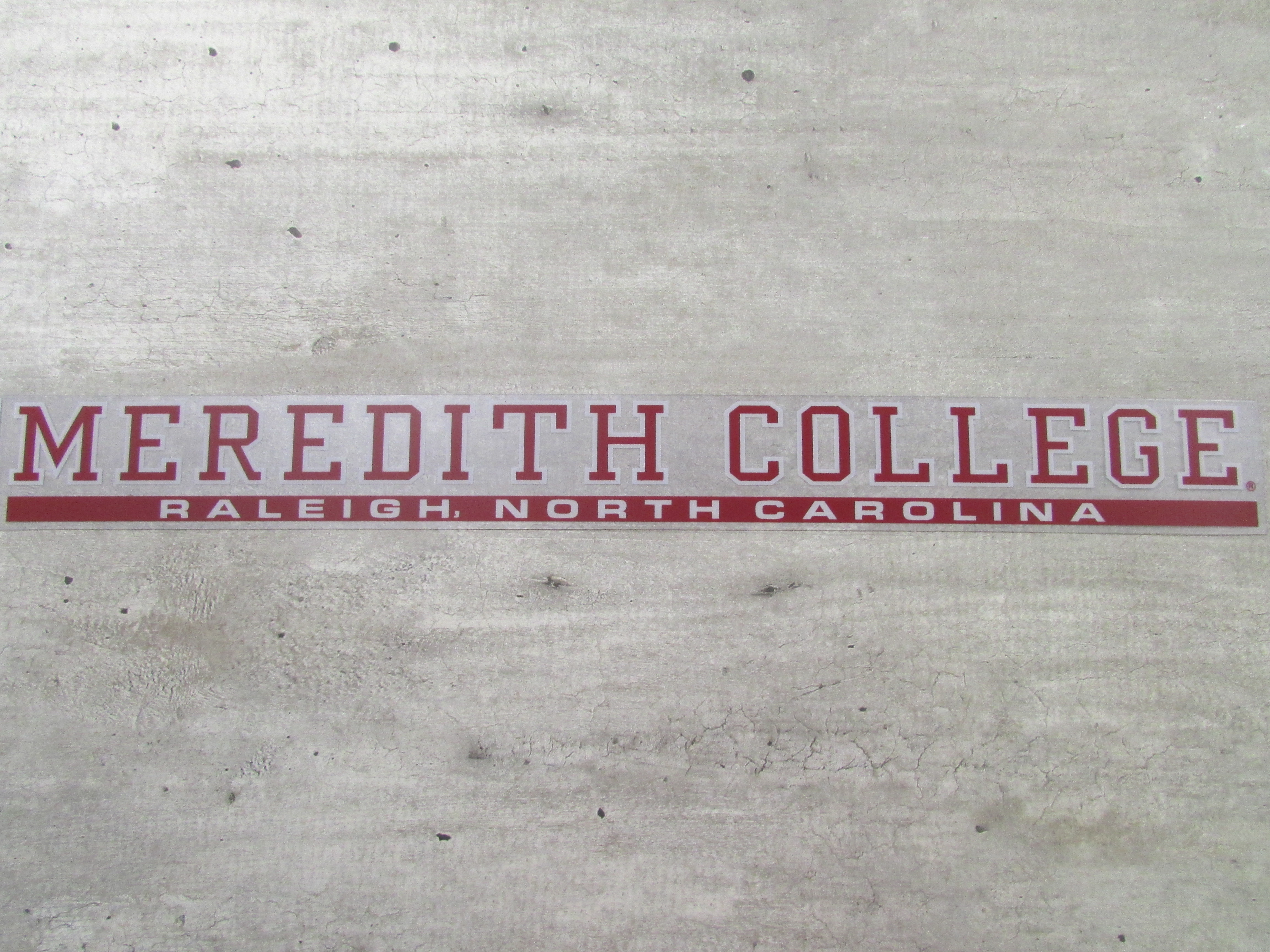 Image for the Auto Cling Long Meredith College Raleigh North Carolina product