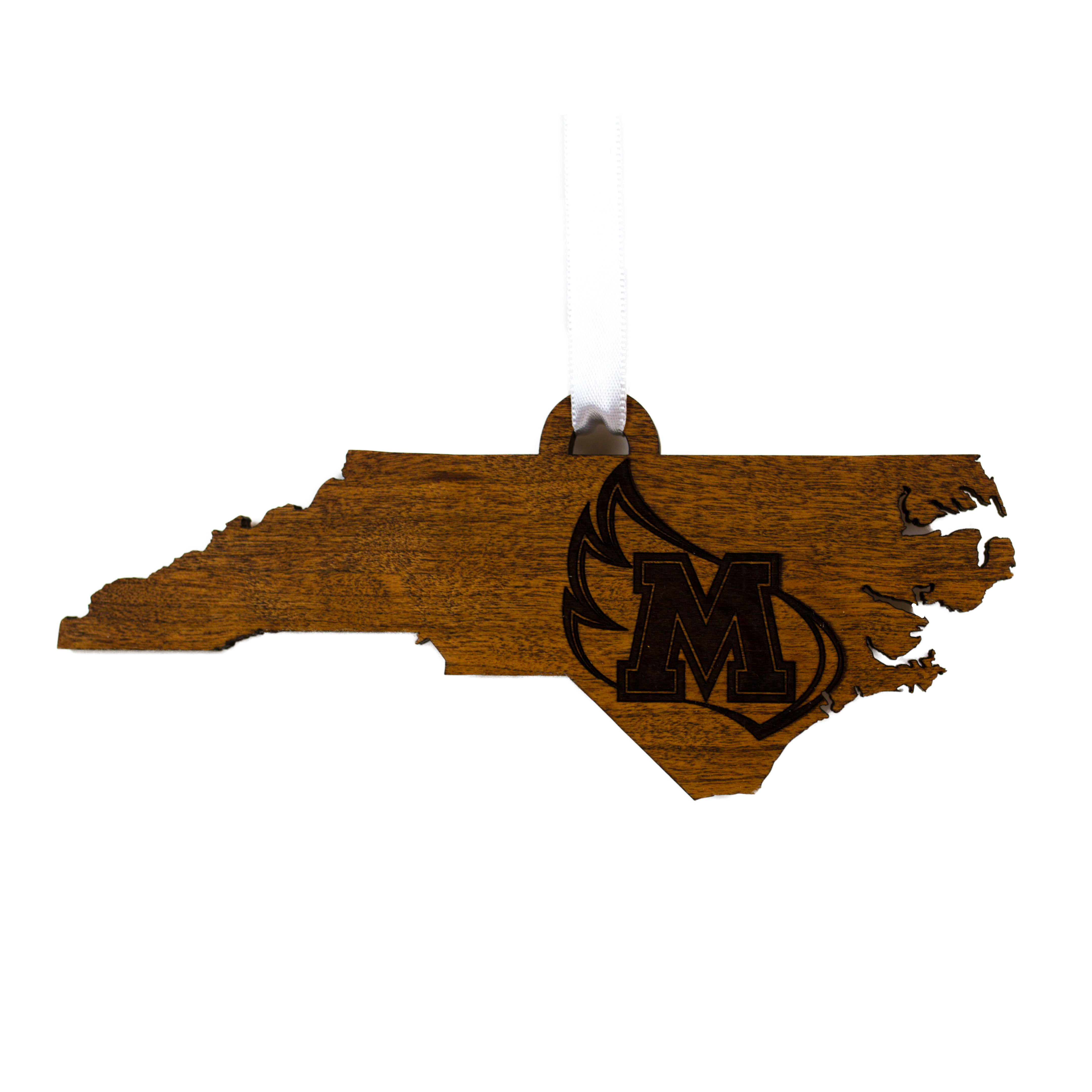 Alternative Image for the State Map Wood Ornament LazerEdge product
