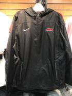 Image for the Nike Woven 1/4 Zip Hooded Jacket product