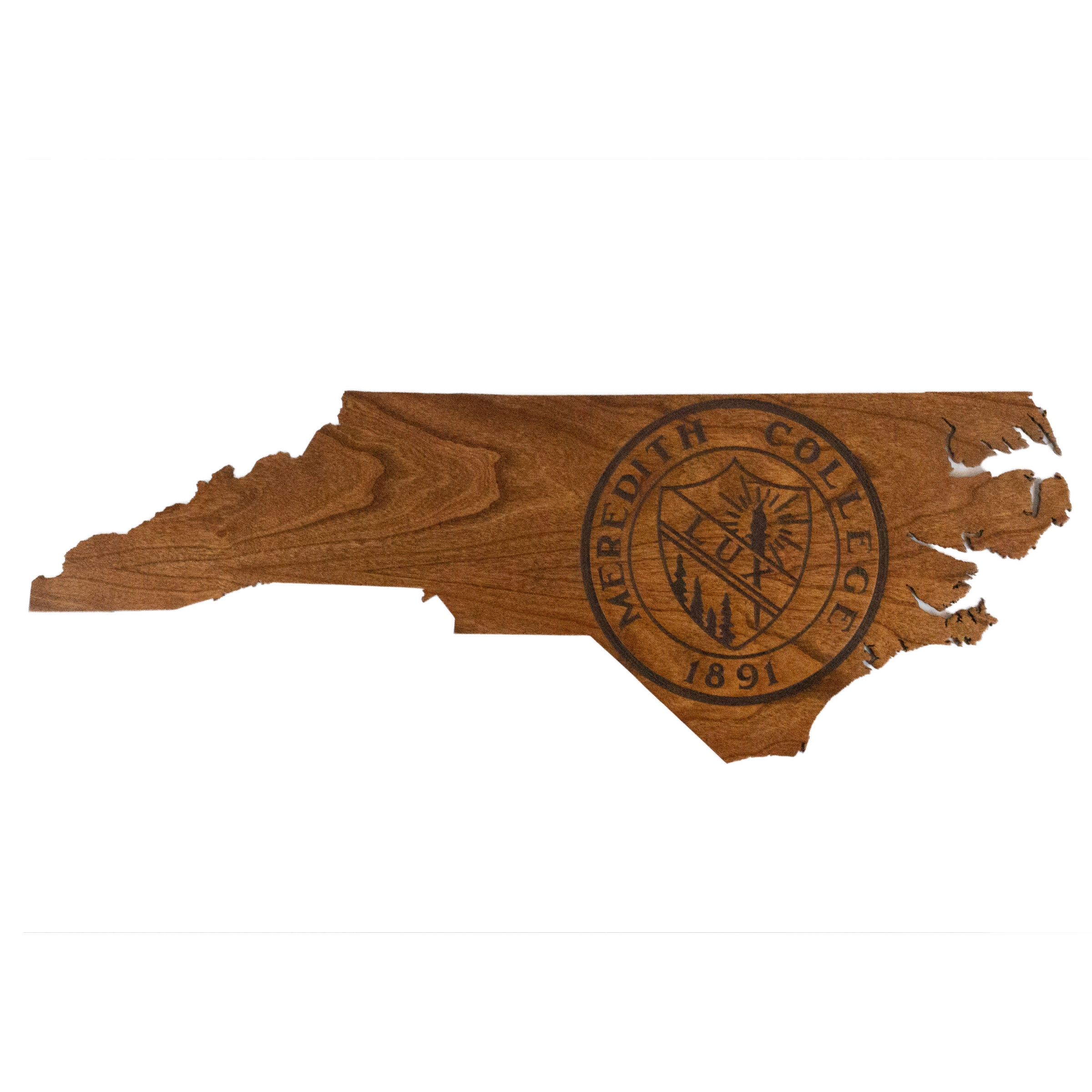 Image for the State Map Wood Sign with Seal LazerEdge product