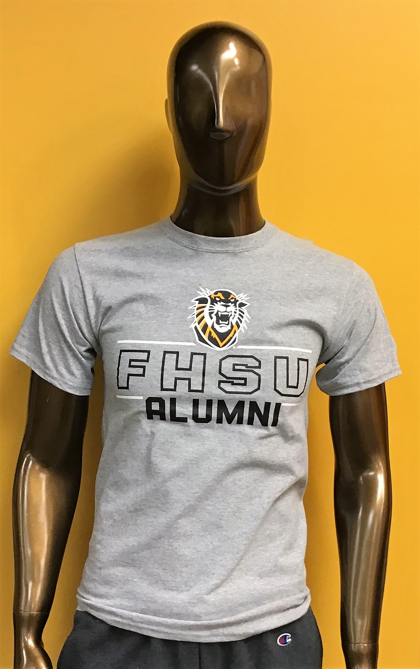Alternative Image for the Alumni Crew or T-shirt Oxford Gray product