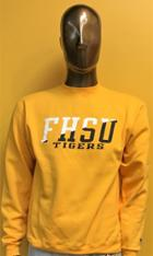 Image for the Crew Neck Sweatshirt Powerblend in White or Gold FHSU Tigers Champion product