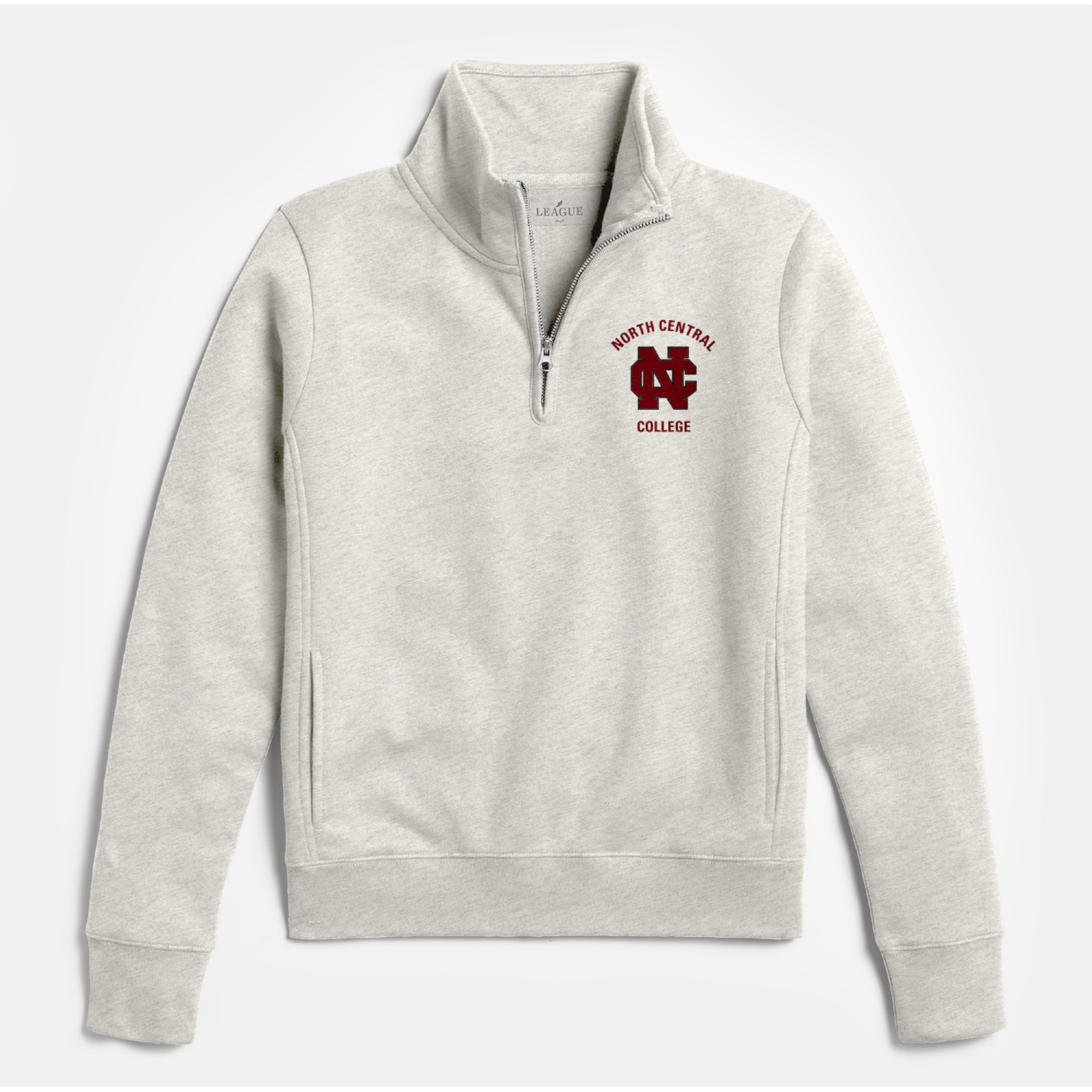 Alternative Image for the North Central College Academy 1/4 Zip by League product