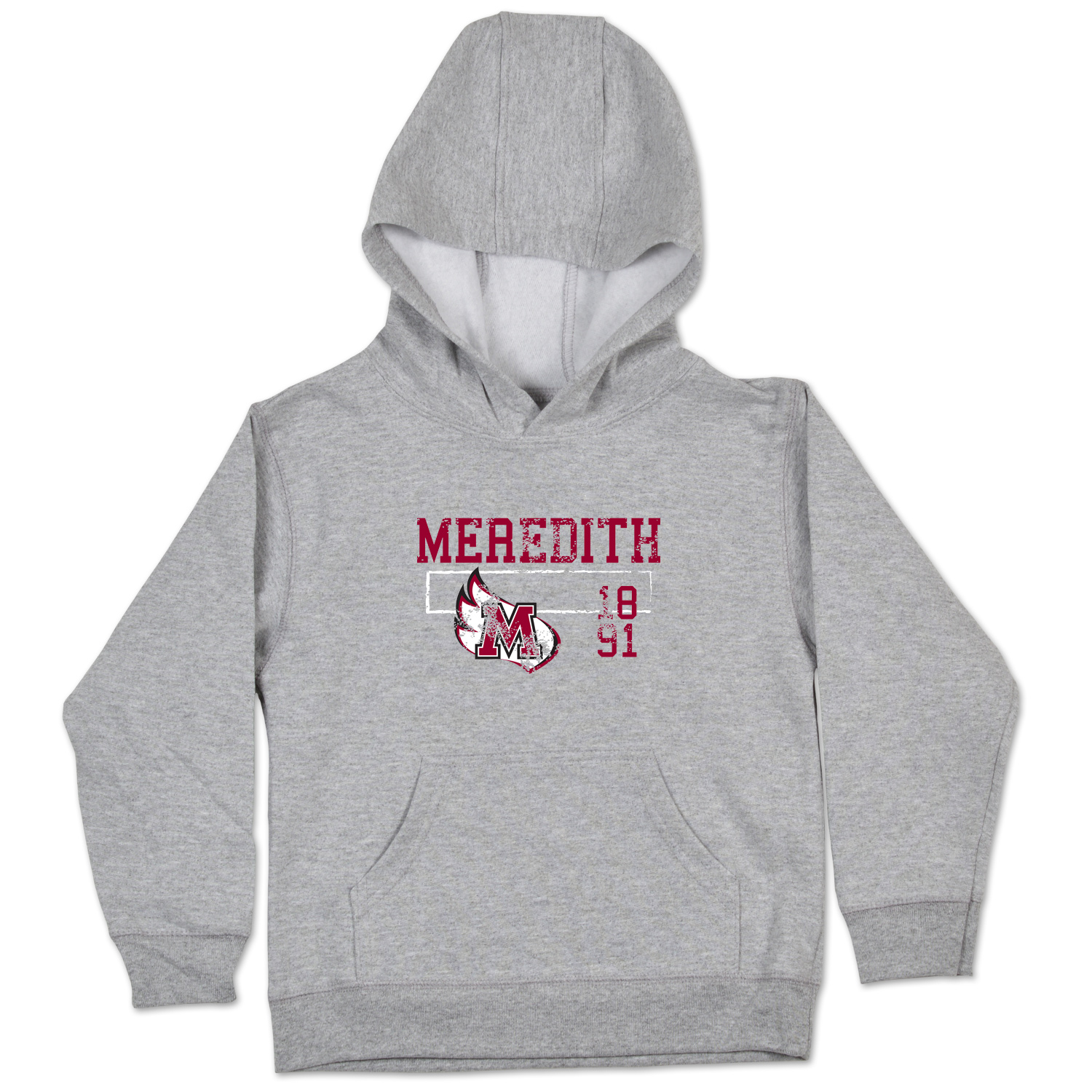 Image for the Toddler Hoodie Meredith w/wing & est. date product