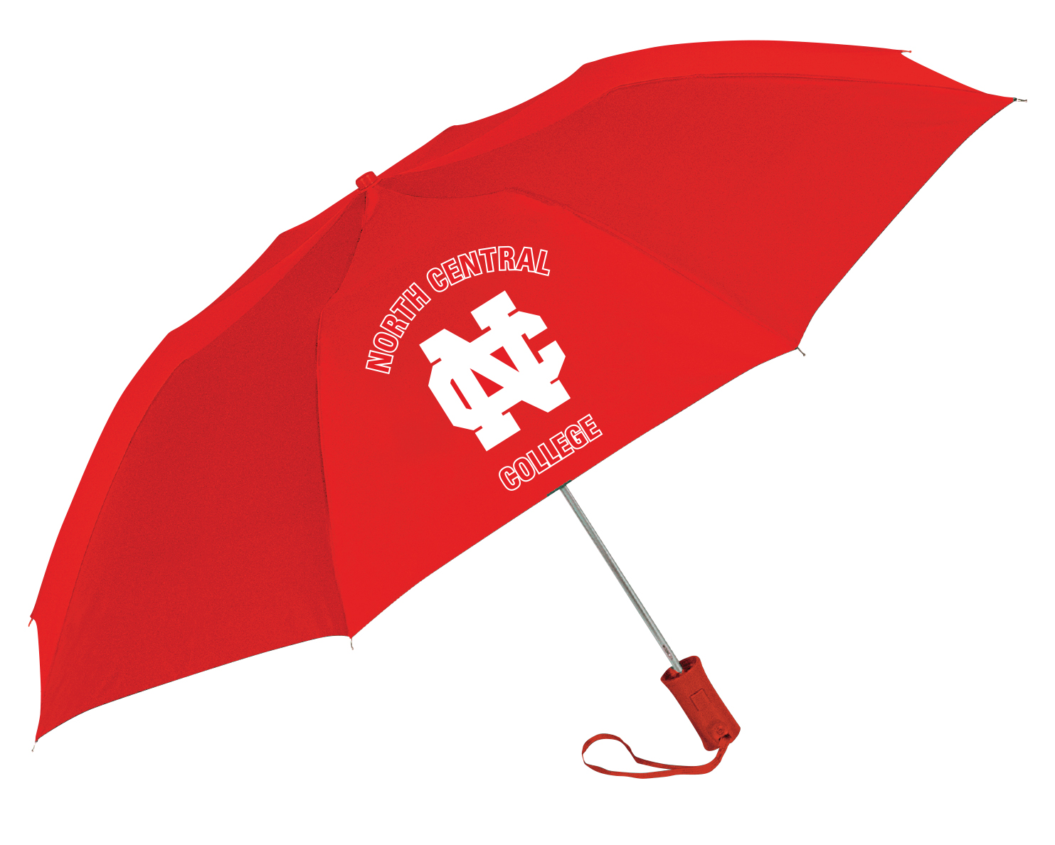 Image for the Solid Red umbrella with school name product