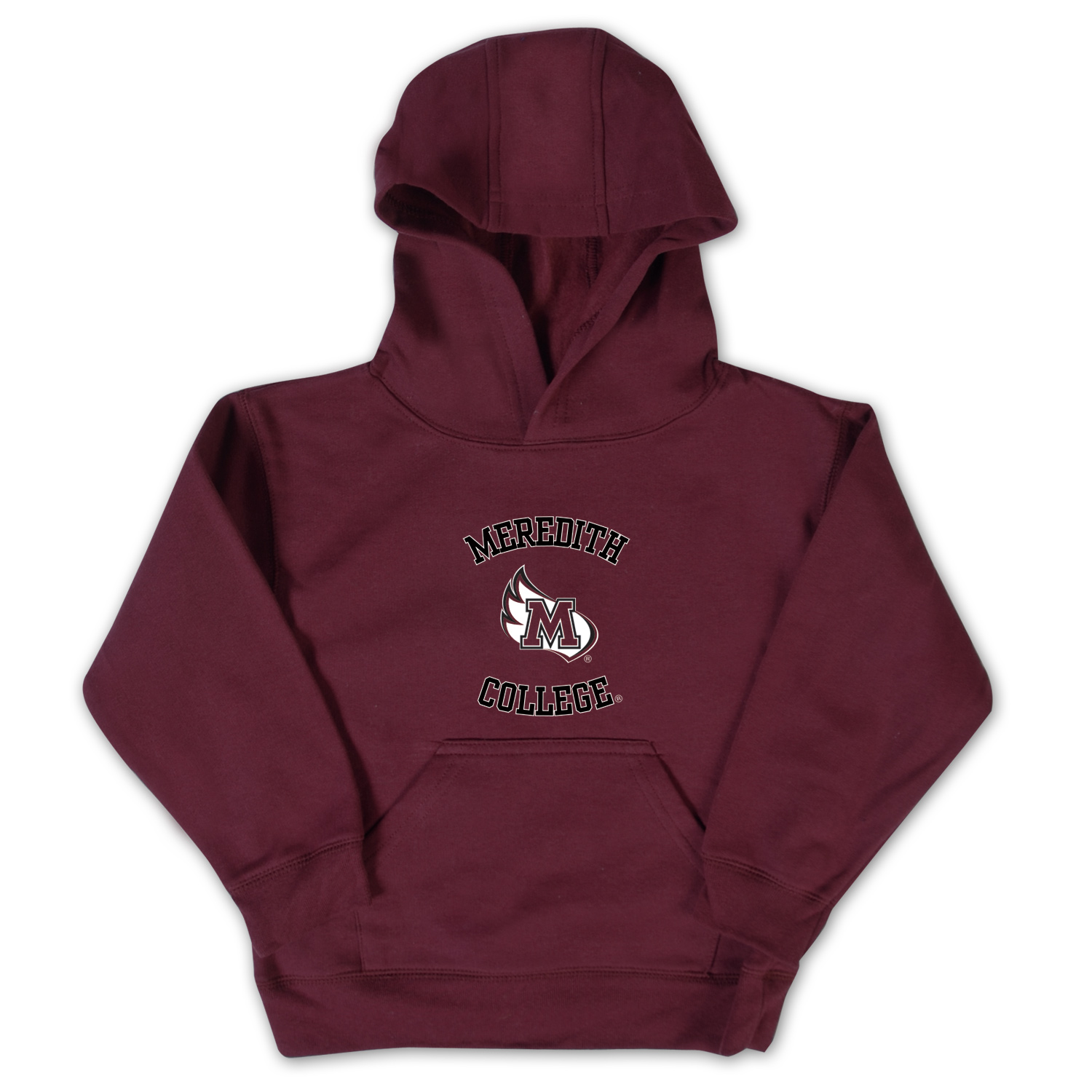 Image for the Toddler Hood Maroon Meredith MWing College College Kids product
