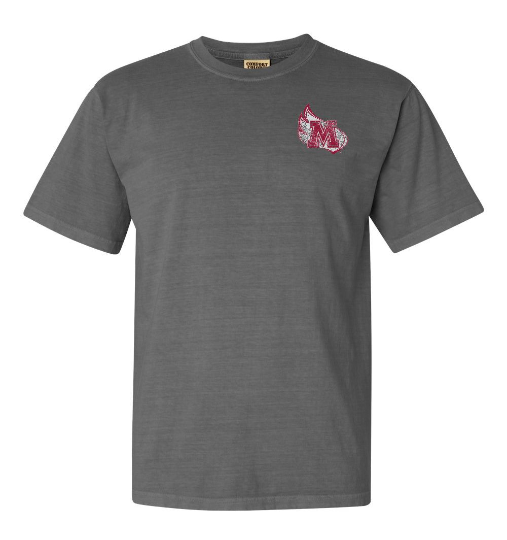 Alternative Image for the Comfort Colors Gray T-Shirt Summit Sportwear Meredith Designs product