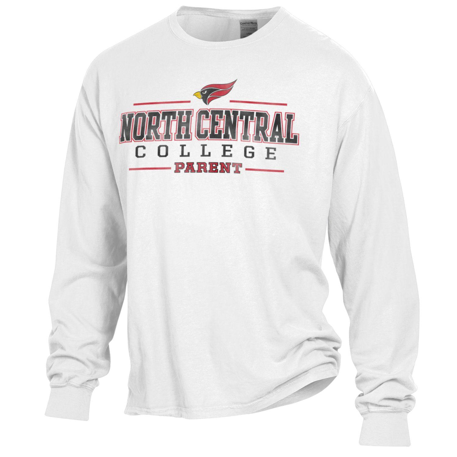 Image for the North Central College Parent Long Sleeve Comfort Wash Tee product