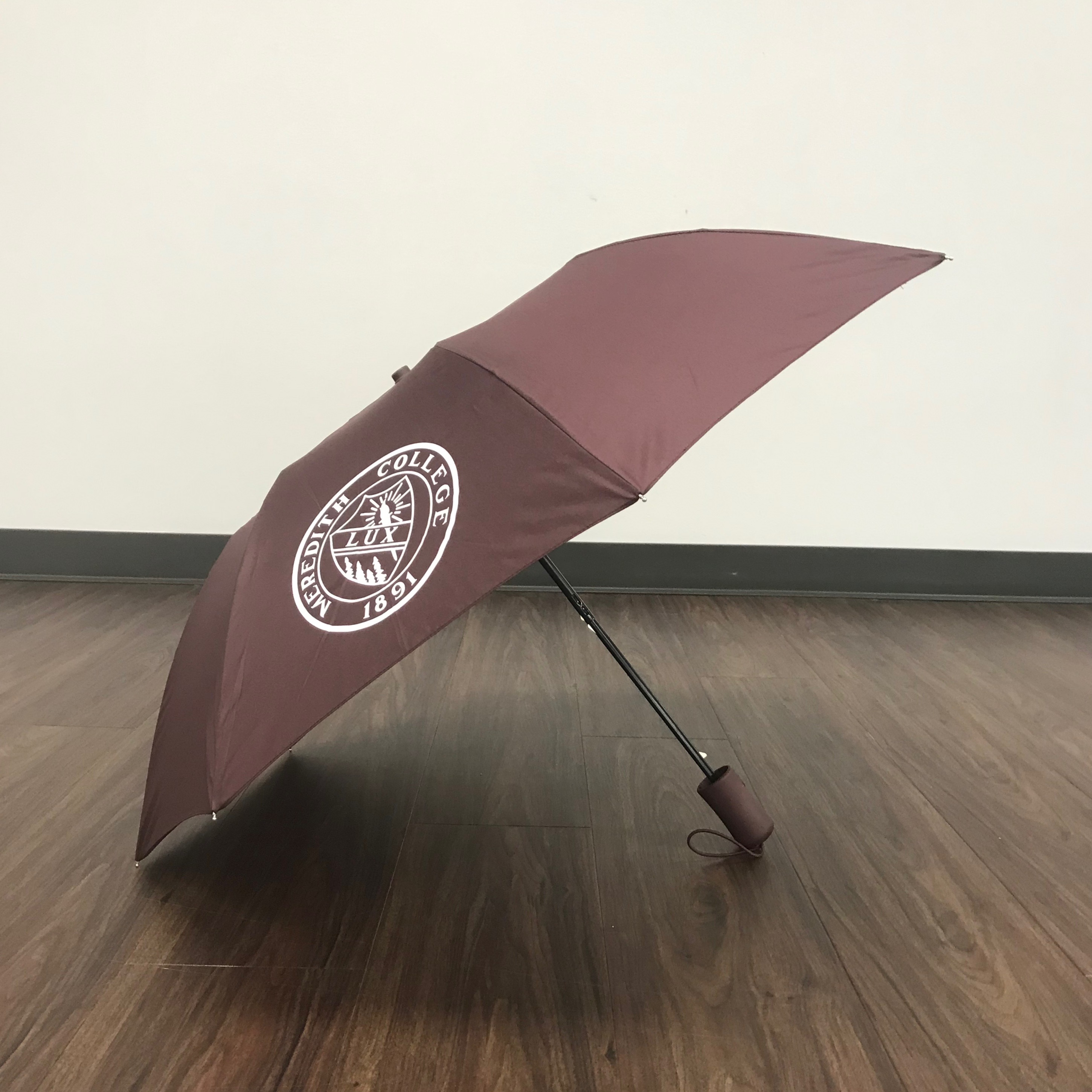 Image for the Deluxe Maroon Folding Umbrella w/ Lux product