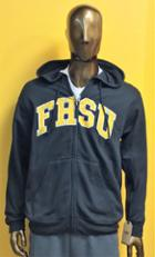 Image for the Full Zip Black Sweatshirt FHSU MV Sport product