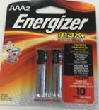 Image for the Energizer AAA 2pk Batteries product