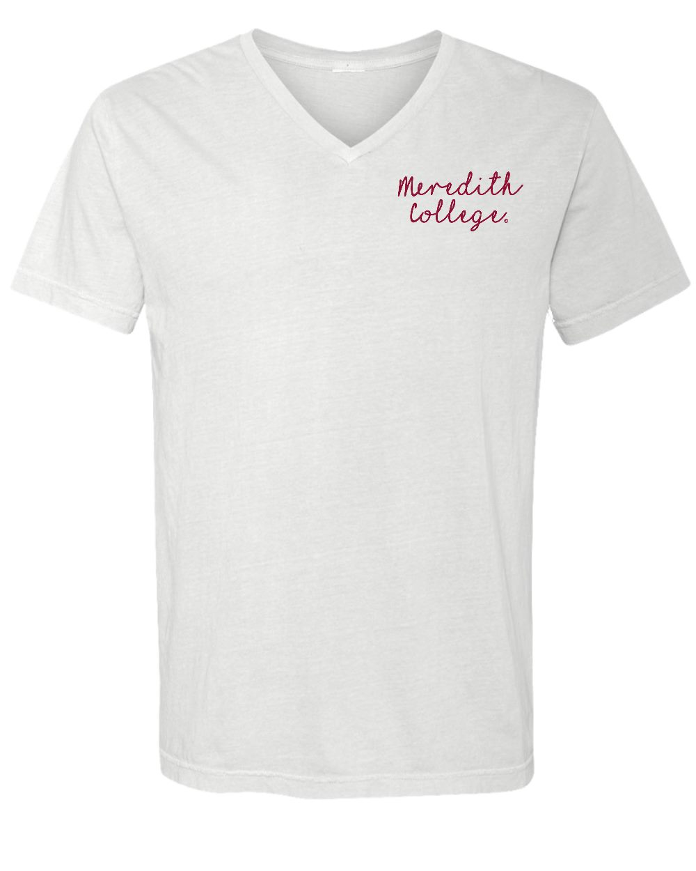 Alternative Image for the Comfort Colors V-Neck Tee White Summit Sportswear product