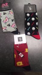 Image for the Multi-design Crew Socks product