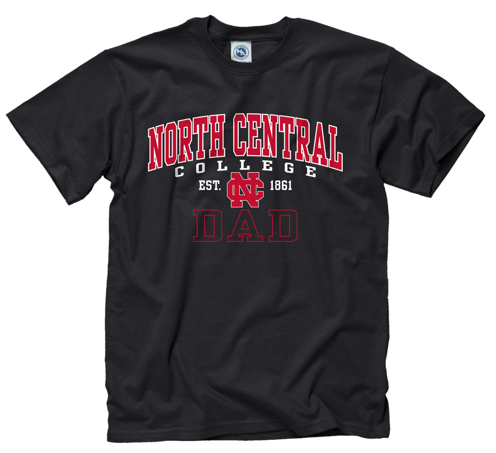 Image for the North Central College Dad Short Sleeve Tee by New Agenda product