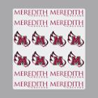Image for the Sticker Sheet Meredith College Logo MWing Logo product