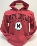 Image for the New Agenda Heather Scarlet Red Hoodie Sweatshirt product