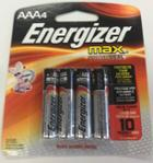 Image for the Energizer AAA 4pk Batteries product